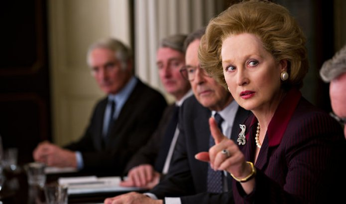 The Iron Lady,' About Margaret Thatcher - Review - The New York Times